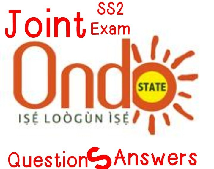 2020/2021 ONDO STATE SS2 JOINT EXAM Chemistry Question & Answer Expo